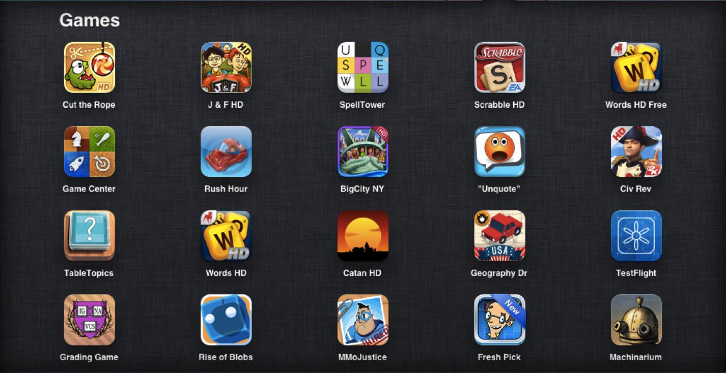 iPadGames