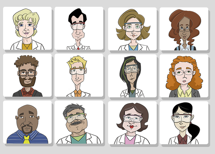 medical-characters