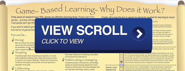 View Game Based Learning Scroll