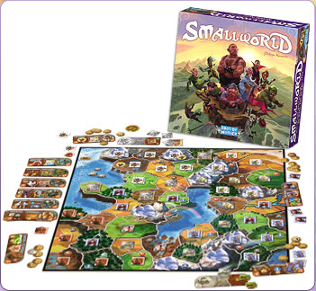 Smallworld board game, ® Days of Wonder