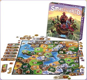 Smallworld board game, ® Days of Wonder